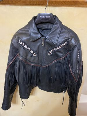 Women's fringed jacket and chaps for Sale in Amarillo, TX