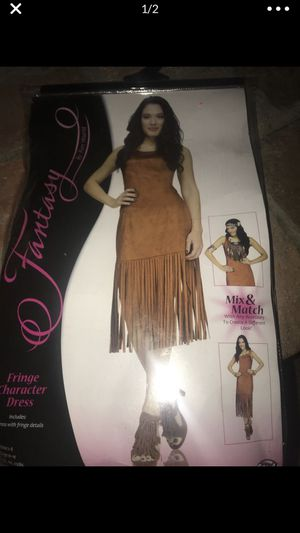 Indian dress costume size medium 10-14 runs small but is stretchy material for Sale in Whittier, CA