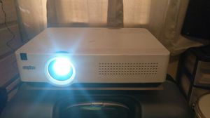 Sanyo LCD projector with 50 ft. Pro VGA cable for Sale in Cocoa Beach, FL