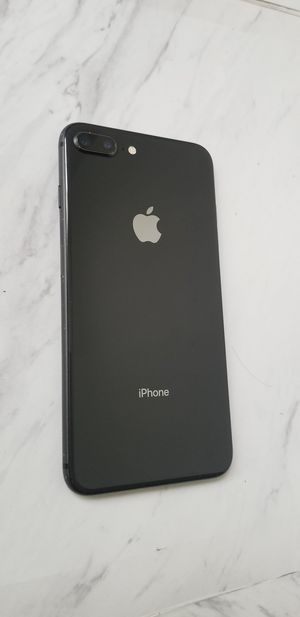 iPhone 8 Plus Jet Black T-Mobile and Metro pcs for Sale in Huntington Park, CA