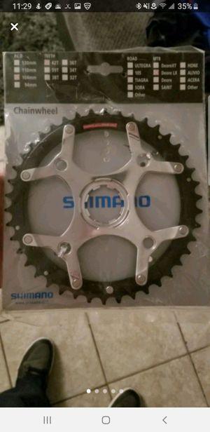 Shimano chain wheel for Sale in Carol Stream, IL