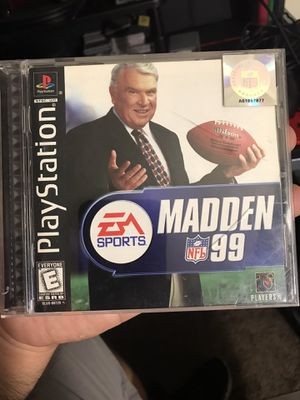 Playstation Madden 99 for Sale in Hawthorne, CA