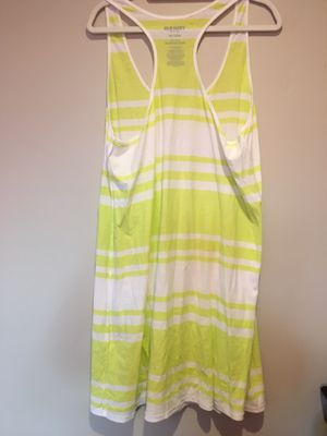 Dress Old Navy Women's Green And White Stripes,Sleeveless Dress XXL ,96 1/2 length ,bust 58. New without tags for Sale in Clearfield, UT
