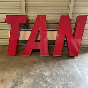 """TAN"" Neon Sign for Sale in Smyrna, GA"