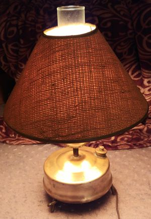 vintage Primus No. 505 (rare) LAMP / DESK LIGHT sweden stove for Sale in Bellingham, WA