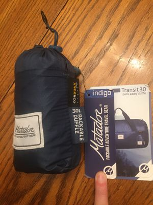 Brand new 30L Matador pack away duffle bag for Sale in Seattle, WA