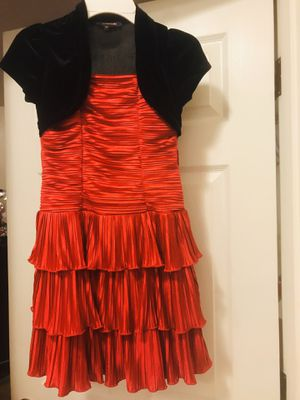 Christmas dress for girls size 8 for Sale in Everett, WA