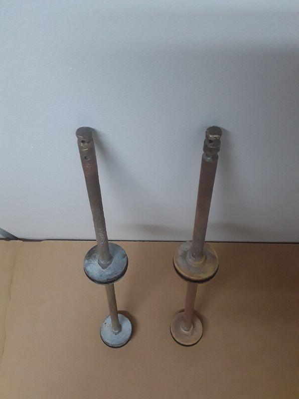 2 Brass backwash valves $20 for both