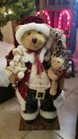 """Grandeur Noel 29"""" holiday bear for Sale in Las Vegas, NV"""
