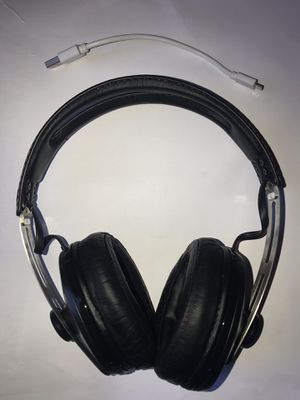 Sennheiser - HD1 Wireless Over-the-Ear Noise Canceling Headphones/microphone - (iOS) Black Model: HD1 M2 AE BT BLACK for Sale in Frederick, MD
