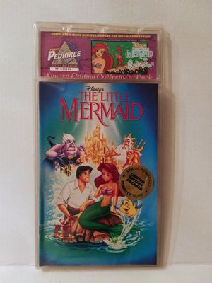 1993 Disney's The Little Mermaid Special Edition 2 Pack Limited and Numbered for Sale in El Paso, TX