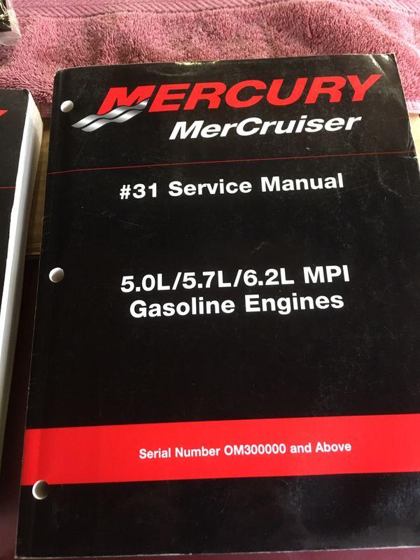 Mercury Marine repair manuals