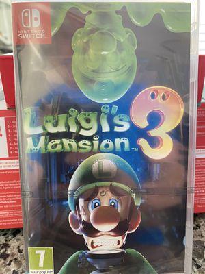 Luigi's mansion 3 - Nintendo Switch - brand new for Sale in Darien, IL