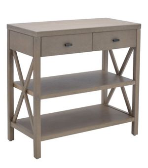 Owings Console Table with 2 Shelves and Drawers Rustic for Sale in Centreville, VA