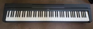 Yamaha P-45 Digital Piano, 88 weighted keys, PLUS FREE Casio keyboard for Sale in San Diego, CA