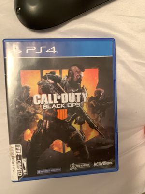 Call of duty black ops 4 (Ps4) for Sale in Hialeah, FL