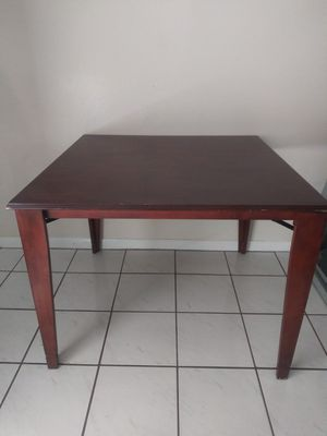 Solid mahogany wood dining computer table for Sale in Tampa, FL