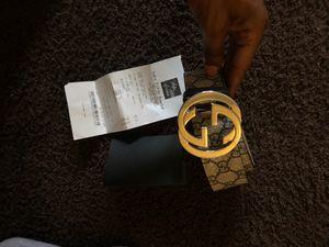 Gucci Belt Blue Accent for Sale in Harvey, LA