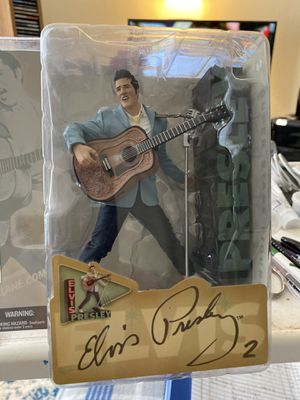 Elvis Presley Figurine Action Figure by McFarlane Toy 1954 Doll No 2 Original Box Never Opened for Sale in Austin, TX