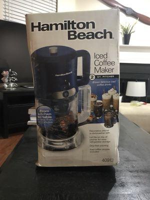 Iced Coffee Maker (Hamilton Beach) for Sale in Washington, DC