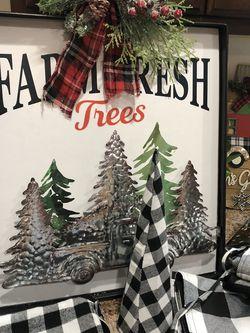 Christmas Decor Buffalo Farmhouse for Sale in Greer,  SC