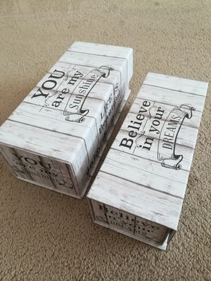 Rustic Farmhouse Keepsake Box Lot for Sale in Sunnyvale, CA