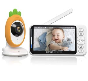 "Video Baby Monitor, Dragon Touch E40 4.3"" HD LCD Display with Camera, Two-Way Audio, Invisible LED Night Vision, VOX Mode, Split Screen, 960ft Range, for Sale in Brooklyn, NY"