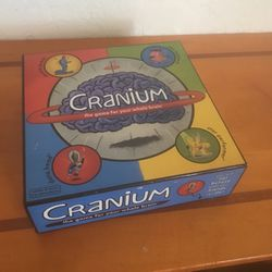 Cranium The Game For your Whole Brain Board Game for Sale in San Diego,  CA