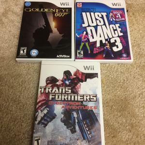 Nintendo Wii / Wii U games for Sale in Champaign, IL
