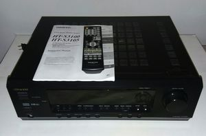 ONKYO Receiver w/ Remote and Manuel UNTESTED for Sale in Clairton, PA
