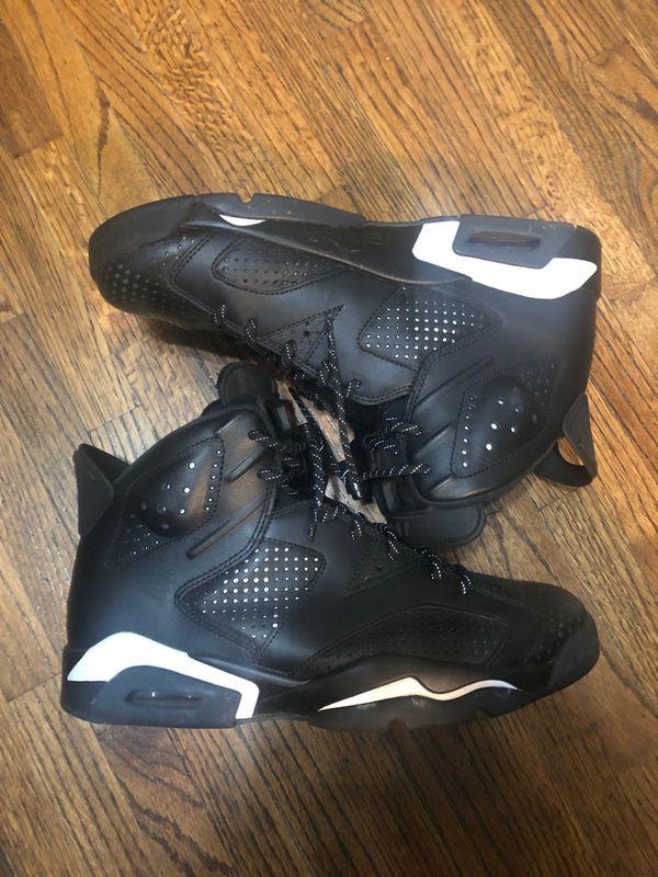 "Air Jordan 6 ""Black Cat"" Size 9.5 (No box)"