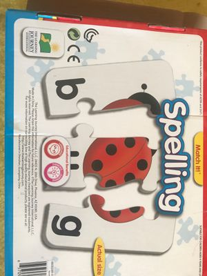 Spelling phonics game puzzle for Sale in Phoenix, AZ