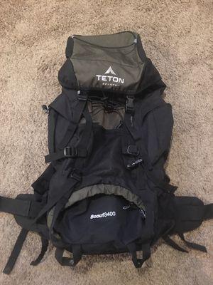 Teton hiking backpack for Sale in Lakeside, CA