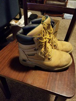Men's steel toe work boots for Sale in Elkhorn, WI