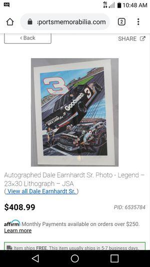 Dale Earnhardt senior for Sale in Abilene, TX