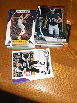 Asst. Basketball and Football Cards for Sale in Wenatchee,  WA