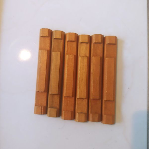 Vintage Lincoln Logs Bulk Lot Of 342 Pieces