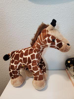 """Build a Bear Giraffe 21"""" Plush World Wildlife Fund Stuffed Animal BAB WWF for Sale in Fort Worth, TX"""