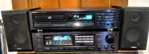 ONKYO Vintage Stereo Receiver TX-810 and matching CD Player DX-1800 from 1990 + Insignia Speakers for Sale in Peoria, AZ
