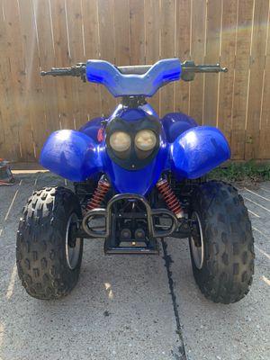 Yamaha 90cc en exelentes condisiones con título en mano regulador de velocidad para niños y jóvenes for Sale in Irving, TX