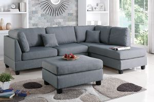 AVAILABLE SECTIONAL SOFA WITH OTTOMAN. $53 DOWN PAYMENT for Sale in Alafaya, FL