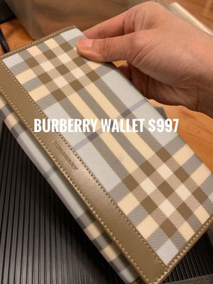 Burberry wallet for Sale in New York, NY