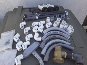 Pvc parts and sprinklers for Sale in Wildomar, CA