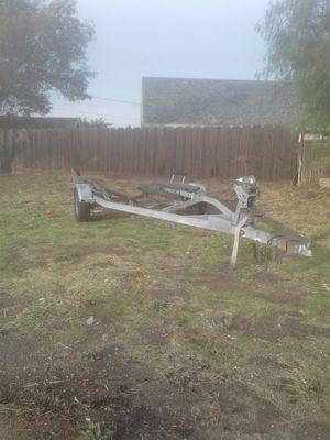 2016 18 to 20 foot Boston Whaler galvanized boat trailer for Sale in Manteca, CA