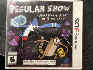 Regular Show Mordecai & Rigby in 8-bit land Nintendo 3DS game - Used for Sale in Griswold, CT