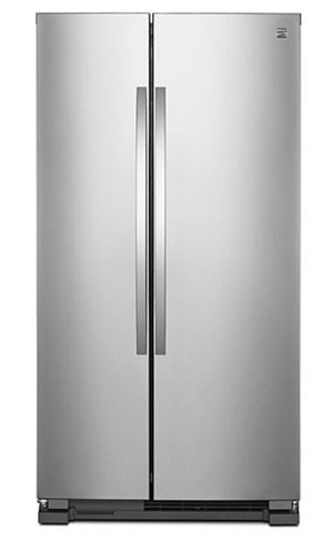 Kenmore 41173 25 cubic foot side by side stainless steel refrigerator for Sale in South Pasadena, CA