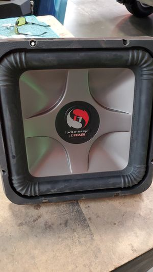 """12 """" kicker solobaric for Sale in Las Vegas, NV"""