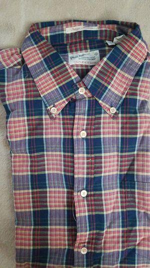 Gant plaid shirt (large) for Sale in Sully Station, VA