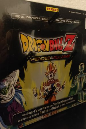 Dragonball Z Booster Box Heroes & Villains for Sale in Avenal, CA