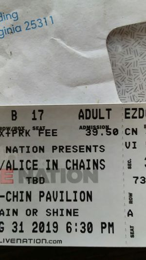 Alice in chains and korn for Sale in Clay Springs, AZ